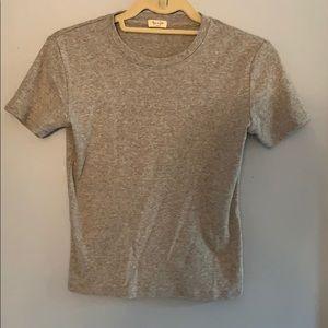 Grey brandy Melville shirt